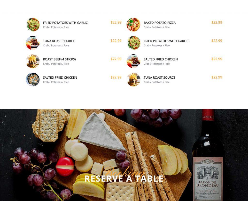 Resto – Restaurant Bootstrap Website Free Template