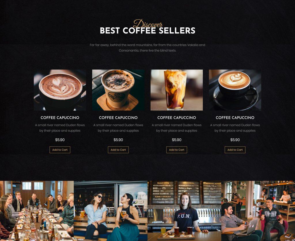 Coffee Blend Restaurant Bootstrap Template