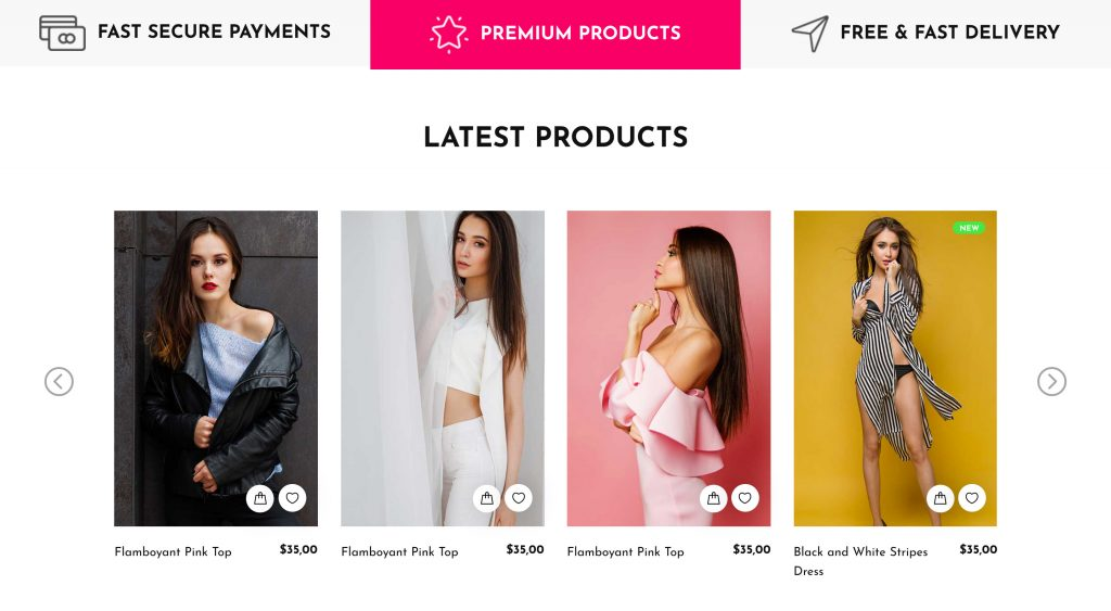 Divisima eCommerce Bootstrap Free Template