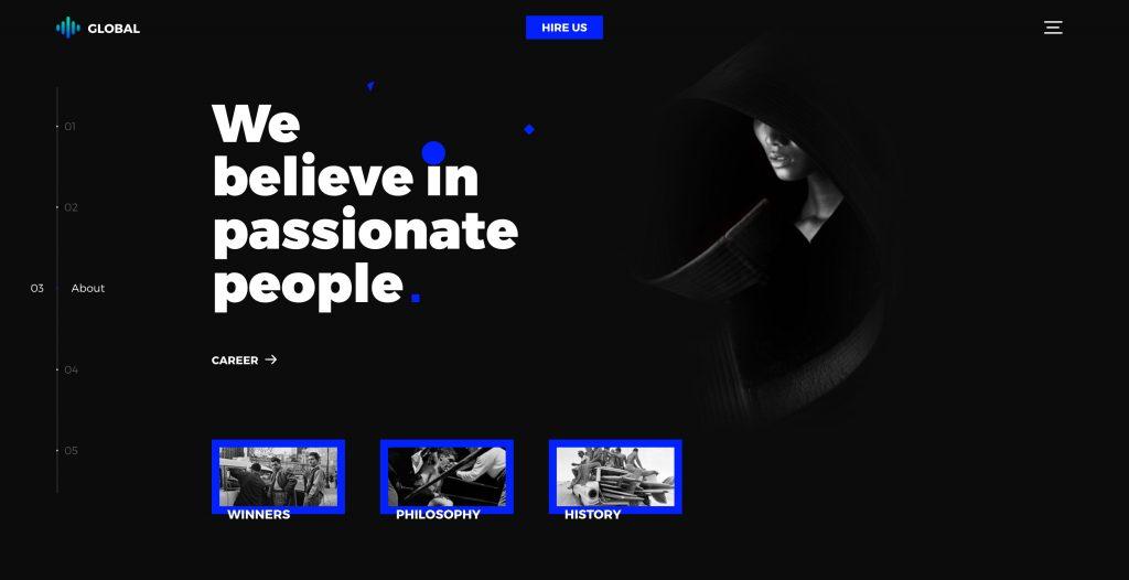 Global Creative HTML5 Agency Template