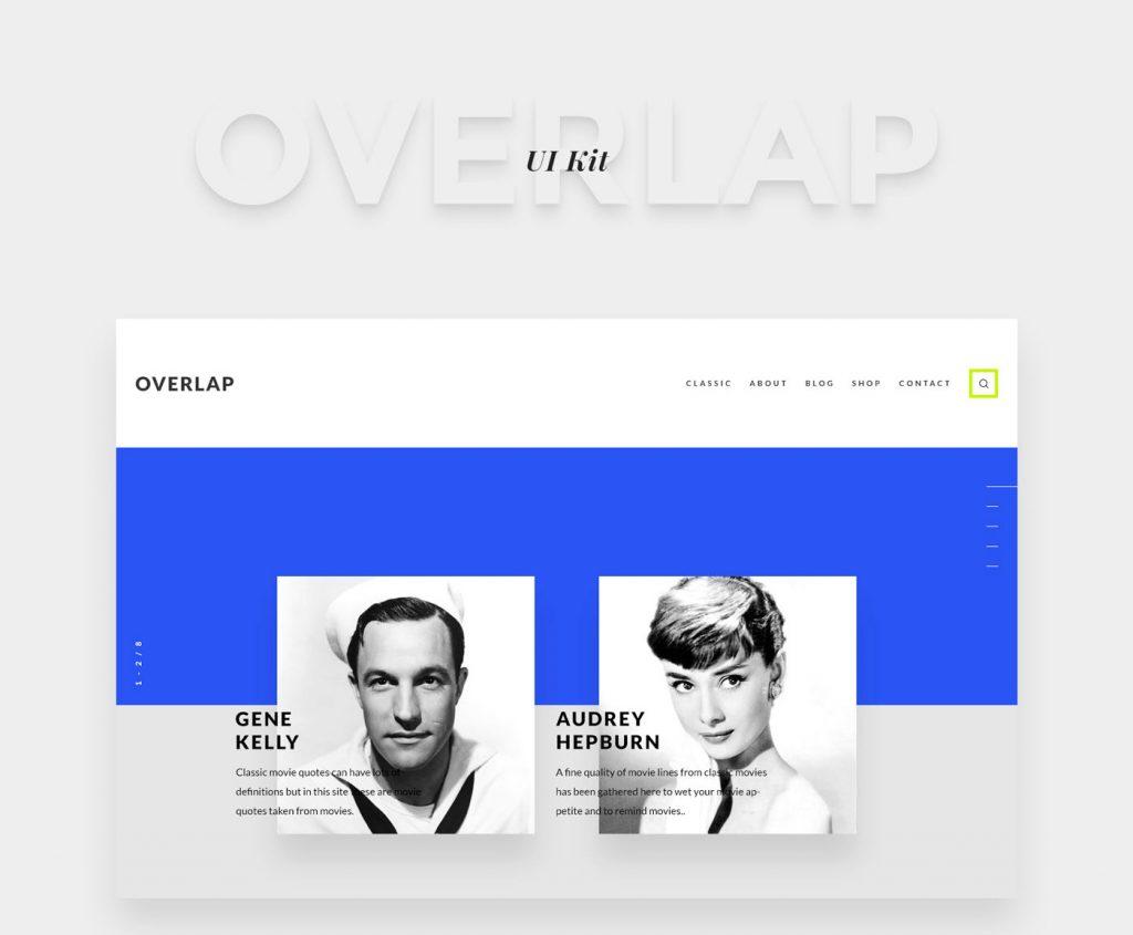 Overlap FREE UI Kit