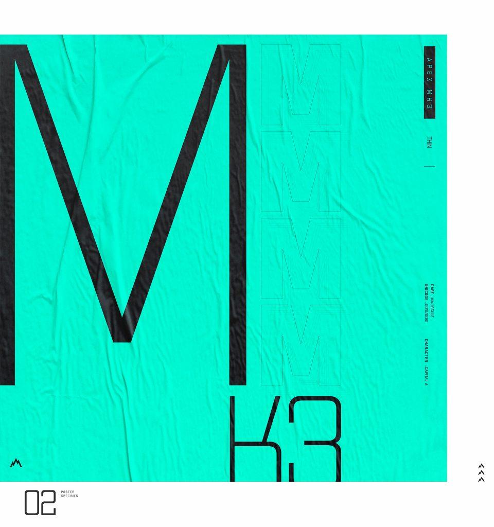 Free APEX MK3 Robust Display Typeface