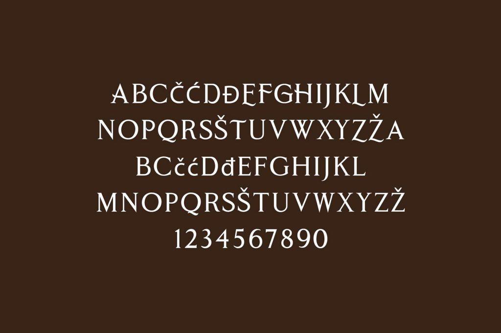 Cobaissi Typeface