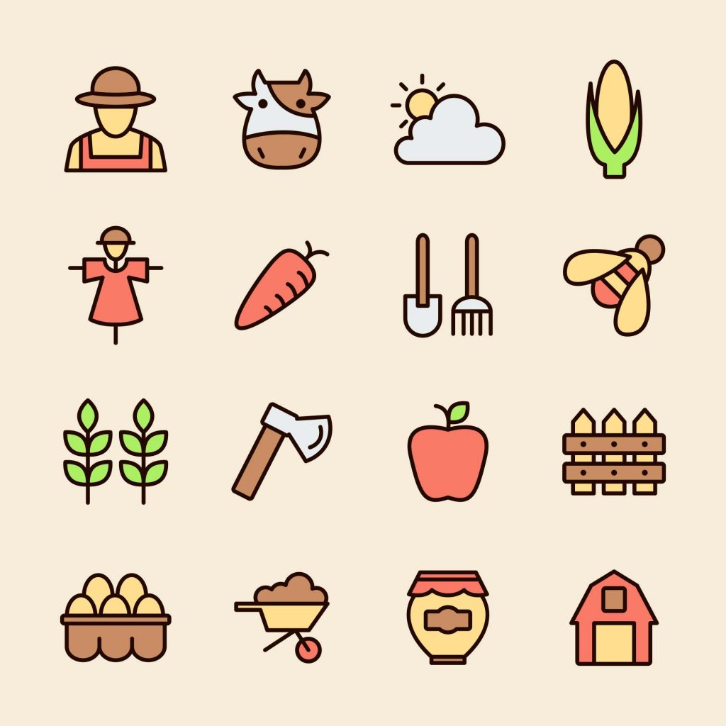 Free Farm Vector Icons