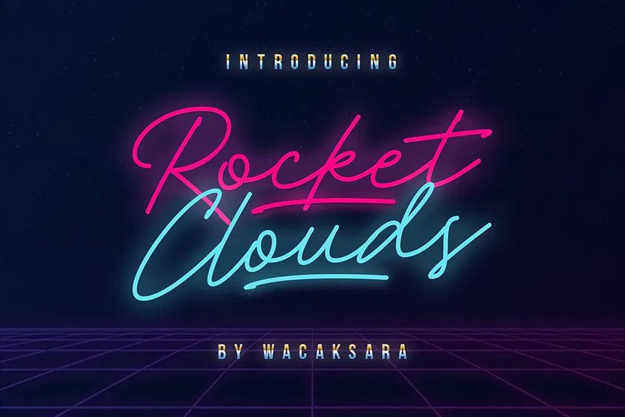 Rocket Clouds Main
