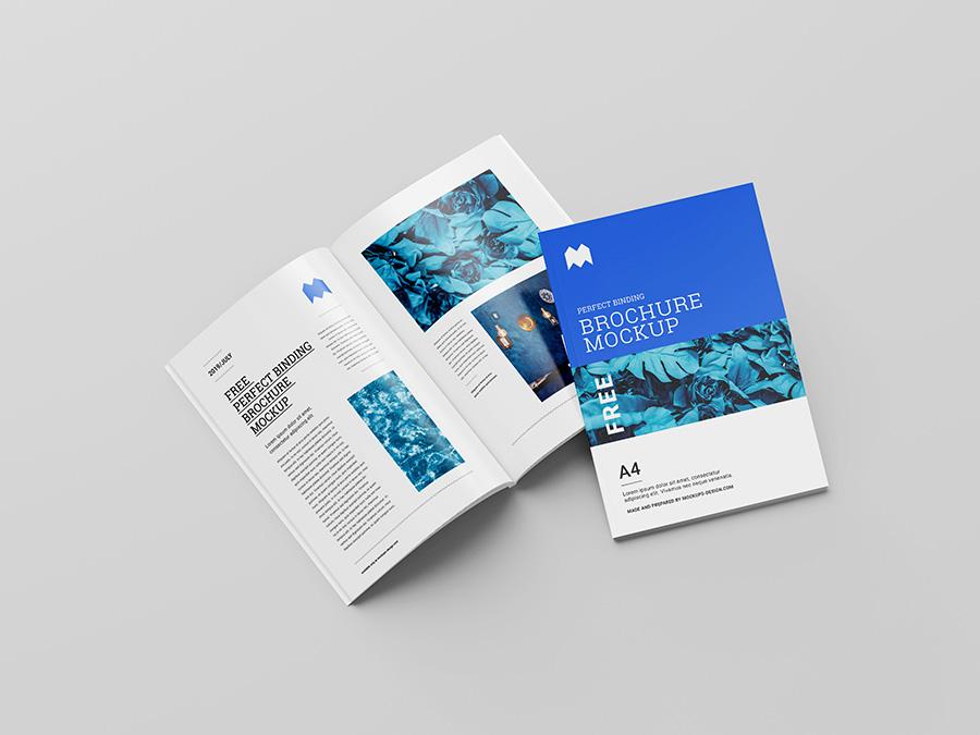 brochure open