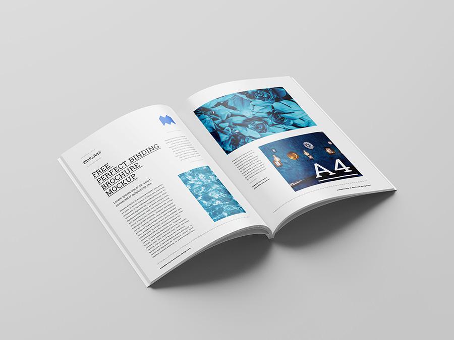 brochure open perspective