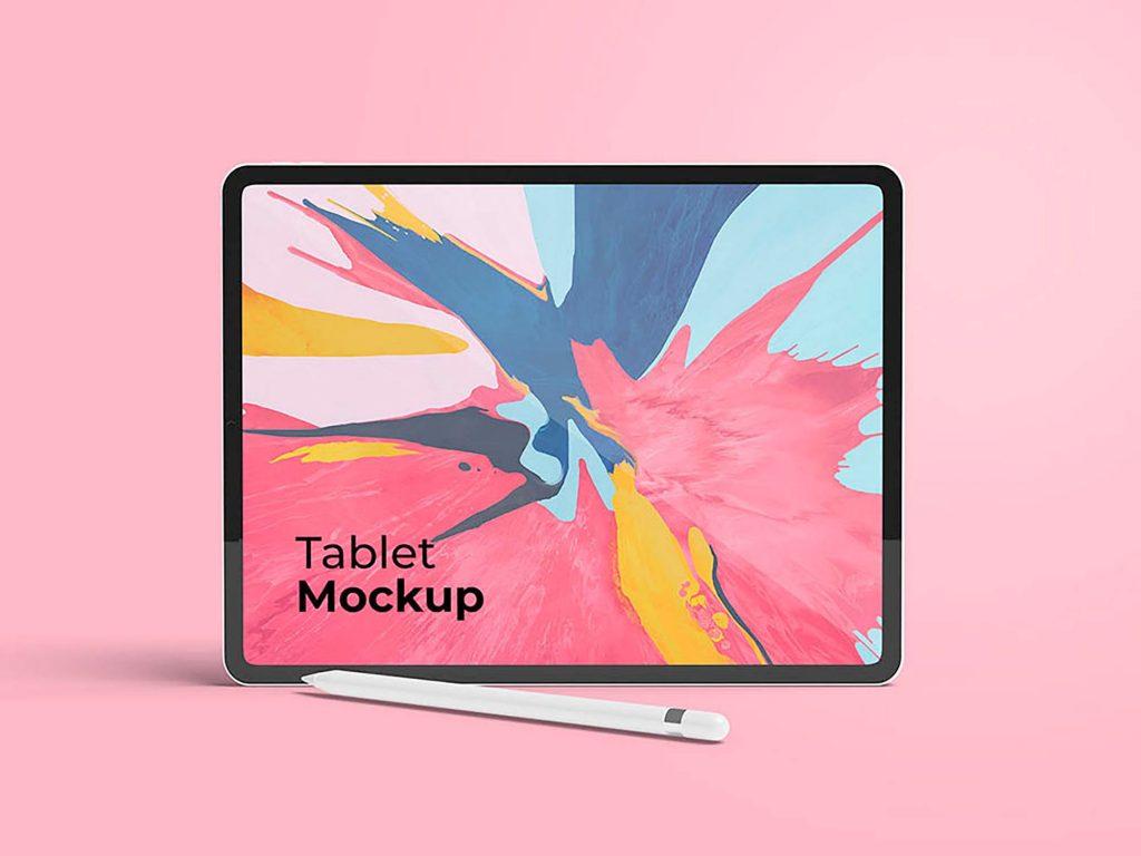 Stylish iPad Free Mockup