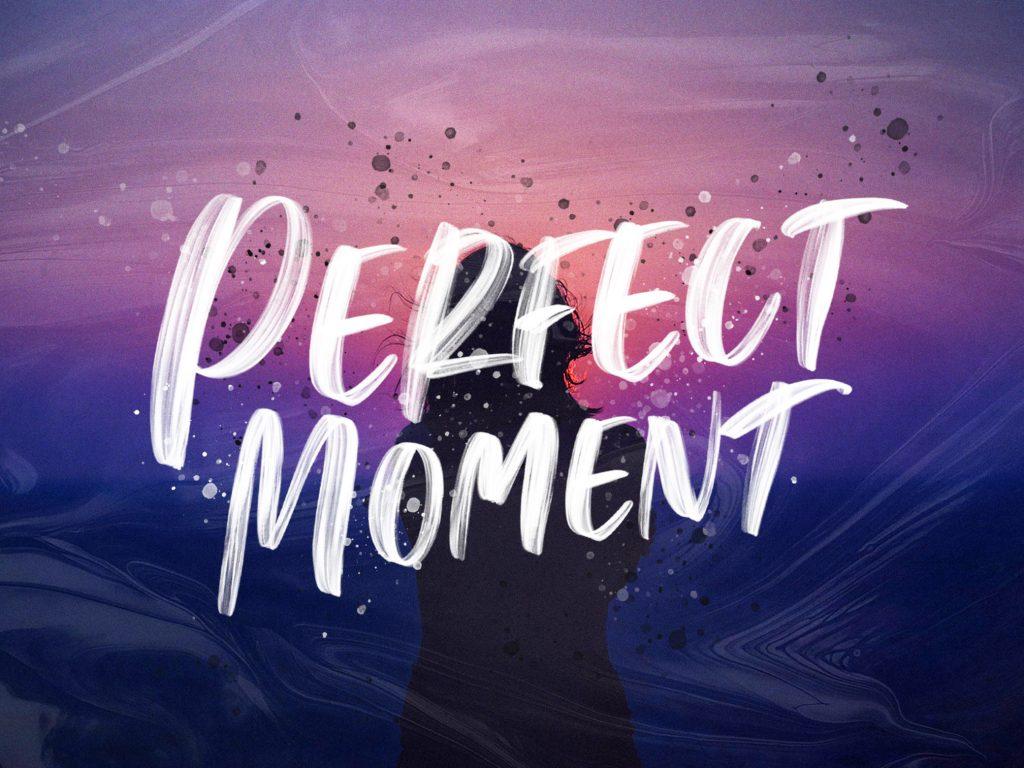 Perfect Moment Handwritten Free Font