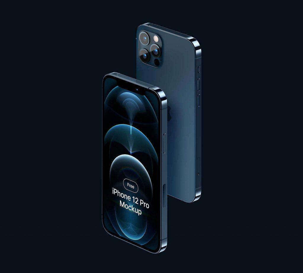 iPhone 12 Pro Mockup Free