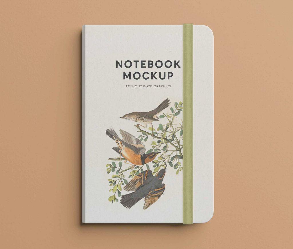 Notebook Free Mockup