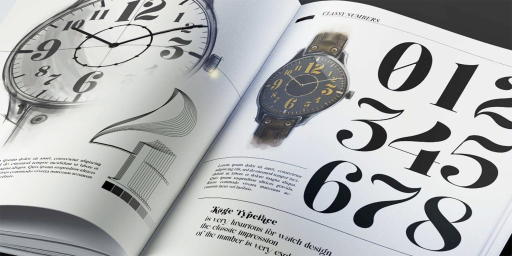 Kage Serif Font Watch
