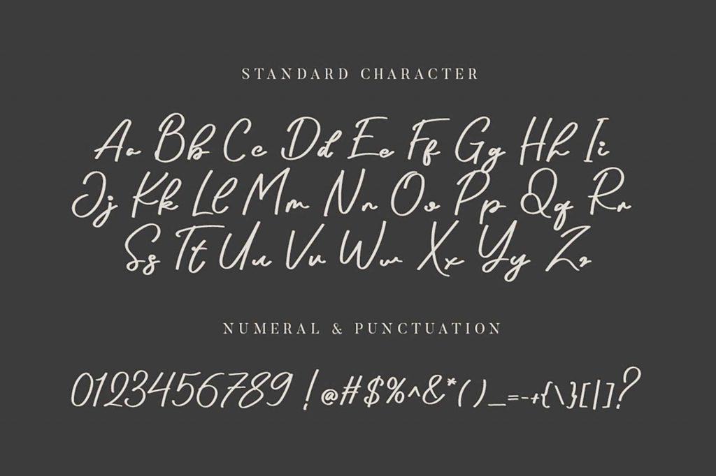 Arthens Luxury Chic Script Font