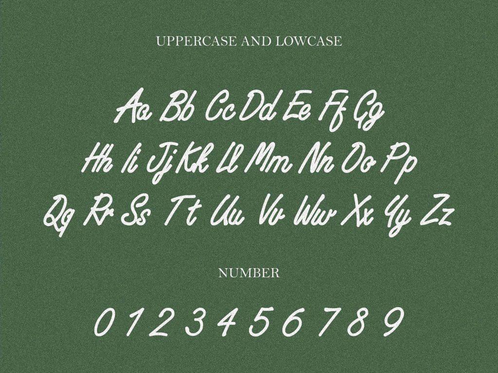 Huf Handwritten Script Font